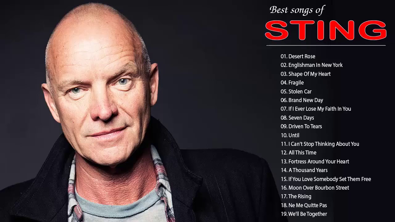 Sting songs youtube