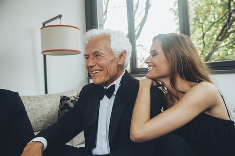 Sexy young girls having sex with old men