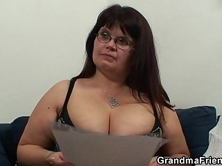 Mature casting chubby porn